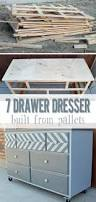 Woodworking Plans Dresser Free by 7 Drawer Dresser With Chevron Top Her Tool Belt