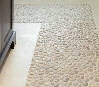 pebble shower floor reviews sliced tile how to seal