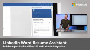 Step-by-step Demo Of LinkedIn Word Resume Assistant, Plus New LinkedIn  Integration In Office 365 How To Download Resumecv From Lkedin Resume Worded Free Instant Feedback On Your Resume And To Upload Your Linkedin In 2019 Easy With Do I Addsource Candidates Lever Using Create Cv Build A Much More Eaging Eye Generate Cv Get Lkedins Pdf Version Everything You Need Know About Apply Microsoft Ingrates Word Help Write Add Hyperlink Overleaf Stack Overflow Simple Ways Download 8 Steps