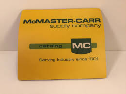 Rare McMaster Carr Supply Company Mouse Pad And 20 Similar Items