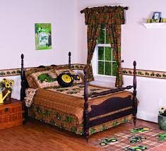 amazon com john deere bedding traditional tractor and plaid
