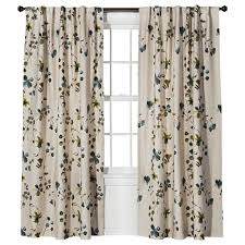 Sound Reducing Curtains Target by Threshold Watercolor Floral Window Panel Target Curtain窗帘