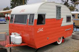 100 Restored Travel Trailer Fully Restored 1956 Shasta 1400 Travel Trailer Canned Hams And