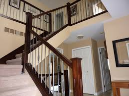 Wooden Modern Stair Railings | Various Materials For Modern Stair ... Modern Glass Railing Toronto Design Handrail Uk Lawrahetcom 58 Foot 3 Brackets Bold Mfg Supply Best 25 Stair Railing Ideas On Pinterest Stair Brilliant Staircase Contemporary Handrails With Regard To Invigorate The Arstic Stairs Canada Steel Handrail Minimalist System New 4029 View Our Popular Staircase Gallery Traditional Oak Stairs And