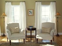 Window Treatments White Silk Drapes