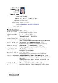 Cv English Igor Mudri Resume Address Format