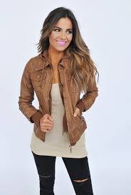 best 20 womens brown leather jacket ideas on pinterest brown