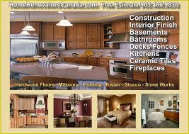 Kitchen And Bathroom Renovations Oakville by Finishing Home Renovations Basements Bathrooms U0026 Kitchens In