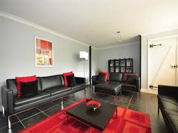 Black And Red Living Room Decorations by Black And Red Living Room