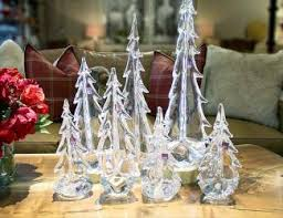 Simon Pearce Christmas Tree Dish by Slifer Designs Hosts Trunk Show With Wares From Simon Pearce