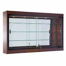 Wall Mount Shadow Box Display Case