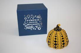 Yayoi Kusama Pumpkin Sculpture by Yayoi Kusama Pumpkin Object Yellow U0026 Black Artwork On The