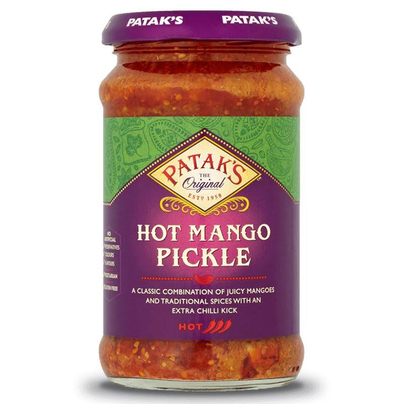 Patak's Mango Pickle - Hot, 283g