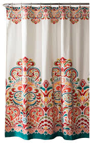 Lush Decor Curtains Canada by Clara Shower Curtain Contemporary Shower Curtains By Lush Decor
