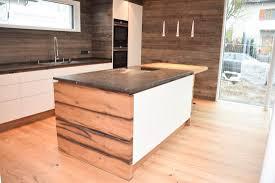küche altholz grifflos matt weiß lackiert