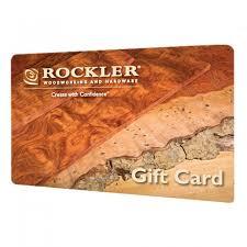 rockler gift card rockler woodworking tools