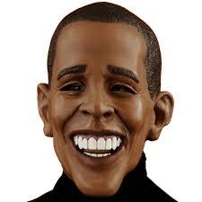 Funny Halloween Half Masks by Obama Funny Halloween Mask