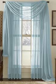Blue Crushed Voile Curtains by 13 Best Voile Curtain Blind Pelmet Images On Pinterest Voile