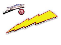 Lightning Bolt Flash WiperTags
