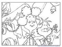The Grinch Who Stole Christmas Coloring Pages Grinchs