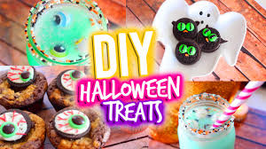 Ideas For Halloween Finger Foods by Easy Diy Halloween Treats Youtube