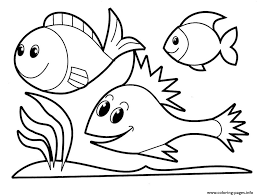Coloring Pages For Girls Animals Fish245e Print Download