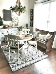 Modern Farmhouse Kitchen Rugs Rug Marvelous Decoration Dining Room Carpet Cute Appealing Interesting With Best Ideas