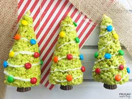 Rice Krispie Christmas Tree Ornaments by Christmas Tree Rice Krispies Treats A Holiday Food Craft For The
