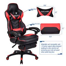 100 Gaming Chairs For S Racing Chair High Back Executive Reclining Computer Office