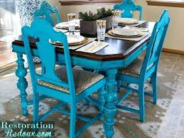 Good Dining Room Concept From Teal Table Delightful Ideas Crafty Design Kitchen Chairs