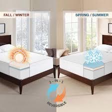"Novaform 3"" Seasonal Memory Foam Mattress Topper"