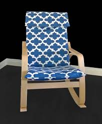Ikea Poang Chair Cover Green by Blue Indian Print Ikea Poang Chair Cover Indian Style Ikea