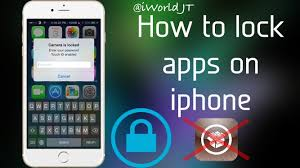 How to lock apps on iphone ios 8 3 NO JAILBREAK