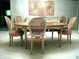 Retro Dining Room Sets Rattan Set Luxury Chairs Of Modern Tables