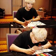 Loey On Twitter 160303 CHANYEOL Coloring Hes EXOs Book A Day In EXO Planet Tco DwZ4WA6G8H