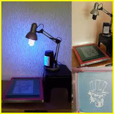 screen printing exposure unit uv l emulsion coating trough
