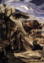 st francis receiving the stigmata c 1571 el greco wikiart org