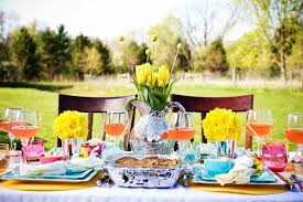 Outdoor Brunch Thatu0027s Extremely Simple Yet Festive And Budget Friendly