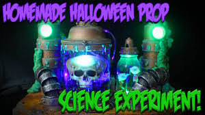 Halloween Coffin Props Effects by Animated Mad Scientist Halloween Prop
