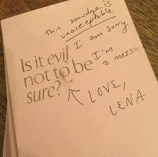 Lena Dunham Publica Su Diario Personal Para Ayudar A Las Jovenes