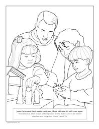 LDS Coloring Pages By Topic Some Nice Bible Story Among Others Which I