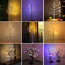 3ft Pre Lit Blossom Christmas Tree by Blossom Tree Light Ebay