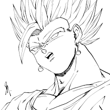 Imagenes Para Colorear De Goku Fase 3 Jaredpandoracom