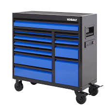 Kobalt Cabinets Extra Shelves by Kobalt 3000 Series 41 In X 41 In 11 Drawer Ball Bearing Steel Tool