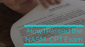 How I Passed The NASM CPT Exam - Mama Exercises
