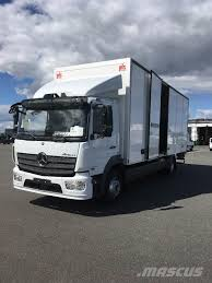 100 Mercedes Box Truck Used Benz Atego 1523 Box Trucks Year 2016 For Sale