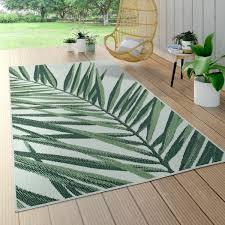 in und outdoorteppich palmen design