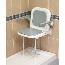 Wall Mounted Fold Up Padded Shower Seat With Back And Arms - Grey - 4000  Series - 04230P Kids Folding Table And Chairs Drop Leaf Ding Fold Wall Mounted Seat Slidestudioco Ihambing Ang Pinakabagong Dolado Bathroom Folding Chair Wall Mounted Fold Up Padded Shower Seat With Back Arms Grey 4000 Series 04230p Jiu Si Chairfolding Lunch Break Bed Teak Down Gappo Seats Solid Wood Happybath Deluxe With Legs Mesh One Mount Mylite Details About 18 Bath Bench Sante Blog