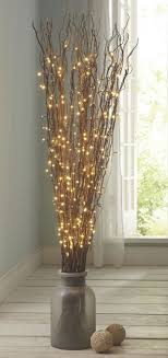 Fill A Substantial Floor Vase With Tall Arrangement Of LED Branches Its Another Beautiful