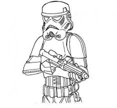 Download Star Wars Stormtrooper Coloring Page Print